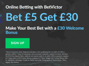 betvictor free bet explained