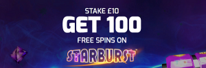 betfred 100 free spins