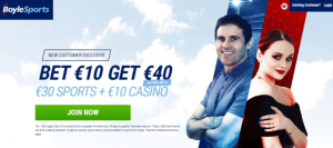 boylesports new customer offer